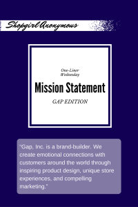 Gap Inc. Mission Statement