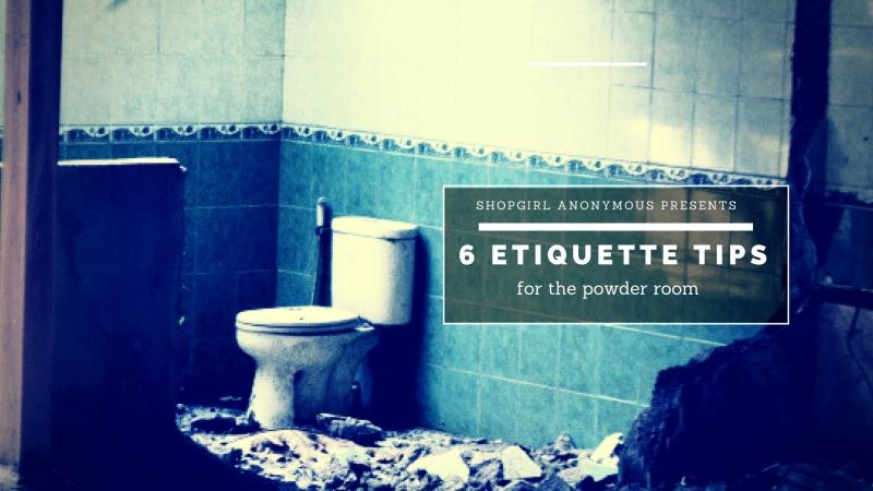 Humorous realities of the women's restroom