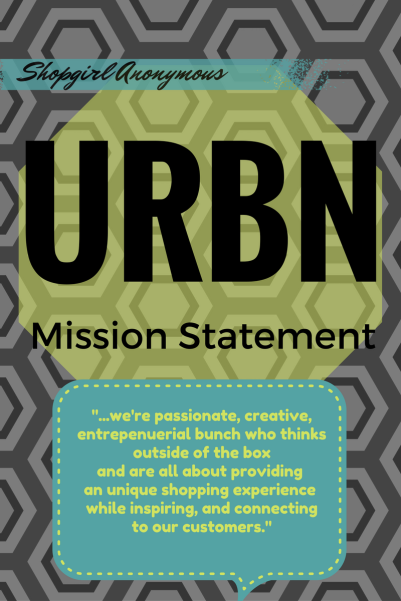 Urban Outfitter S Mission Statement Shop Girl Anonymous