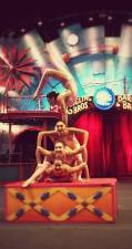 Contortionists at Ringling Brother's Circus