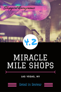 Take in the unique sights and funky vibes of the Miracle Mile Shops of Vegas