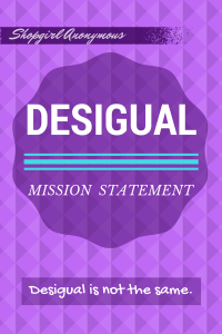 Desigual Mission Statement Is To Encourage Positivity Through Fashion