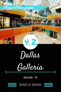 A day at the Dallas Galleria in Pictures with rating and a brief history.