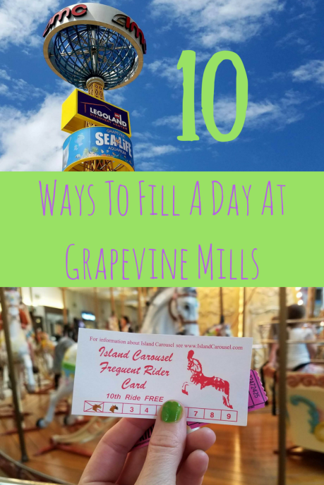 10 Ways To Fill A Day At Grapevine Mills Mall in Dallas, TX