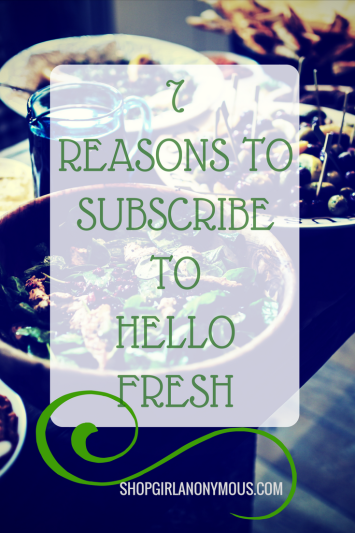 Subscribe to Hello Fresh