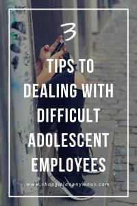 Adolescent Employees
