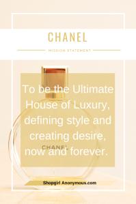 Chanel Mission
